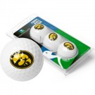 Iowa Hawkeyes Top Flite XL Golf Balls 3 Ball Sleeve (Set of 3)