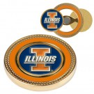 Illinois Fighting Illini Challenge Coin with Ball Markers (Set of 2)