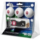 Indiana Hoosiers 3 Golf Ball Gift Pack with Spring Action Tool