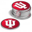 Indiana Hoosiers Golf Ball Marker (12 Pack)