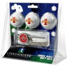 Iowa State Cyclones 3 Ball Golf Gift Pack with Kool Tool