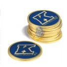 Kent State Golden Flashes Golf Ball Marker (12 Pack)
