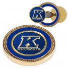 Kent State Golden Flashes Challenge Coin with Ball Markers (Set of 2)