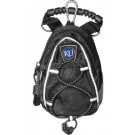 Kansas Jayhawks Black Mini Day Pack (Set of 2)