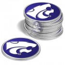 Kansas State Wildcats Golf Ball Marker (12 Pack)