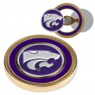 Kansas State Wildcats Challenge Coin with Ball Markers (Set of 2)