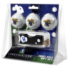 Kentucky Wildcats 3 Golf Ball Gift Pack with Spring Action Tool