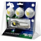 California State (Long Beach) Dirtbags 3 Ball Golf Gift Pack with Kool Tool