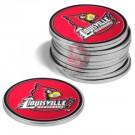 Louisville Cardinals Golf Ball Marker (12 Pack)