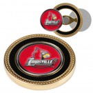 Louisville Cardinals Challenge Coin with Ball Markers (Set of 2)