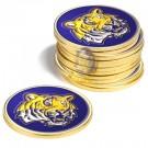 Louisiana State (LSU) Tigers Golf Ball Marker (12 Pack)