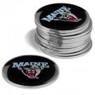 Maine Black Bears Golf Ball Marker (12 Pack)