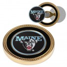 Maine Black Bears Challenge Coin with Ball Markers (Set of 2)