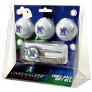 Memphis Tigers 3 Ball Golf Gift Pack with Kool Tool
