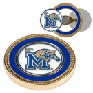 Memphis Tigers Challenge Coin with Ball Markers (Set of 2)