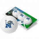 Memphis Tigers Top Flite XL Golf Balls 3 Ball Sleeve (Set of 3)