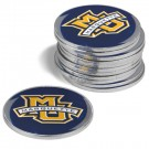 Marquette Golden Eagles Golf Ball Marker (12 Pack)