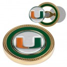 Miami Hurricanes Challenge Coin with Ball Markers (Set of 2)