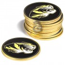 Missouri Tigers Golf Ball Marker (12 Pack)