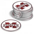 Mississippi State Bulldogs Golf Ball Marker (12 Pack)