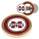 Mississippi State Bulldogs Challenge Coin with Ball Markers (Set of 2)