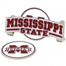 Mississippi State Bulldogs Slider Clip with Golf Ball Marker (Set of 3)