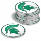Michigan State Spartans Golf Ball Marker (12 Pack)