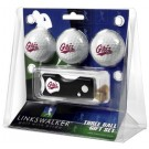 Montana Grizzlies 3 Golf Ball Gift Pack with Spring Action Tool