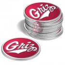 Montana Grizzlies Golf Ball Marker (12 Pack)