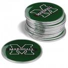 Marshall Thundering Herd Golf Ball Marker (12 Pack)