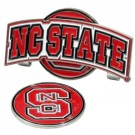 North Carolina State Wolfpack Slider Clip with Golf Ball Marker (Set of 3)