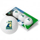North Carolina (Wilmington) Seahawks 3 Golf Ball Sleeve (Set of 3)