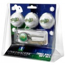 North Dakota State Bison 3 Ball Golf Gift Pack with Kool Tool