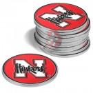 Nebraska Cornhuskers Golf Ball Marker (12 Pack)