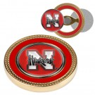 Nebraska Cornhuskers Challenge Coin with Ball Markers (Set of 2)