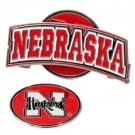 Nebraska Cornhuskers Slider Clip with Golf Ball Marker (Set of 3)