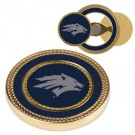 Nevada Wolf Pack Challenge Coin with Ball Markers (Set of 2)