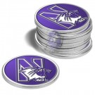 Northwestern Wildcats Golf Ball Marker (12 Pack)
