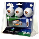Oregon State Beavers 3 Ball Gift Pack with Hat Clip