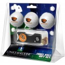 Oregon State Beavers 3 Golf Ball Gift Pack with Spring Action Tool