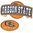 Oregon State Beavers Slider Clip with Golf Ball Marker (Set of 3)