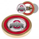 Ohio State Buckeyes Challenge Coin with Ball Markers (Set of 2)