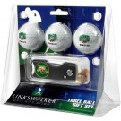 Ohio Bobcats 3 Golf Ball Gift Pack with Spring Action Tool