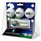 Pittsburgh Panthers 3 Ball Golf Gift Pack with Kool Tool
