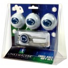 Penn State Nittany Lions 3 Ball Golf Gift Pack with Kool Tool