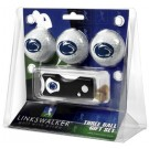 Penn State Nittany Lions 3 Golf Ball Gift Pack with Spring Action Tool