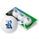 Rice Owls 3 Golf Ball Sleeve (Set of 3)
