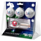 South Alabama Jaguars 3 Ball Golf Gift Pack with Kool Tool