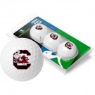 South Carolina Gamecocks Top Flite XL Golf Balls 3 Ball Sleeve (Set of 3)