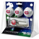 St. Cloud State Huskies 3 Ball Golf Gift Pack with Kool Tool
